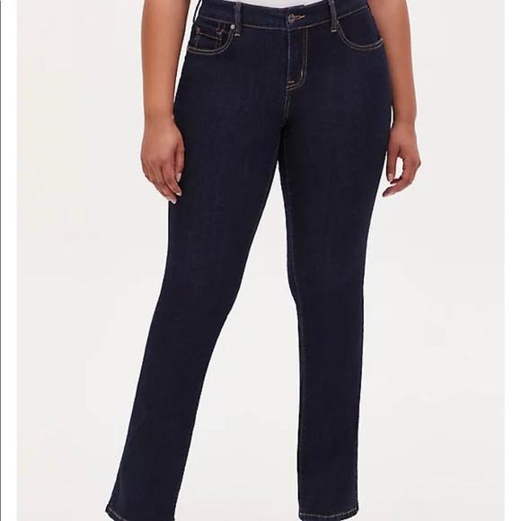 NWT Torrid Slim Boot Jean Dark Wash Size 22